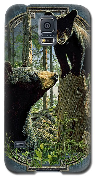 Mom And Cub Bear Galaxy S5 Case by JQ Licensing