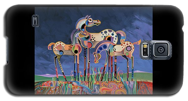 Mom And Foals Galaxy S5 Case by Bob Coonts