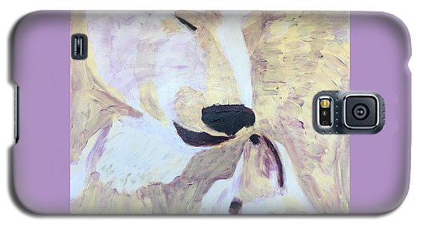 Galaxy S5 Case featuring the painting Momma Bear Checking On Her Cub by Donald J Ryker III
