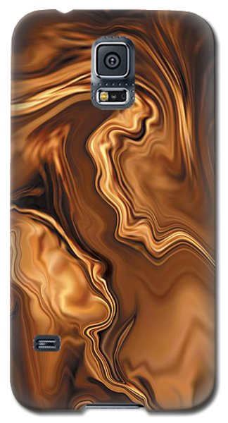 Galaxy S5 Case featuring the digital art Moment Before The Kiss by Rabi Khan