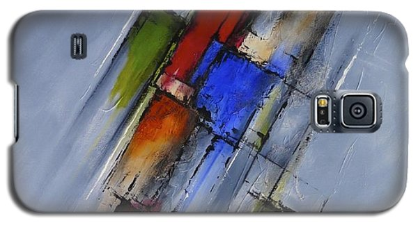 Galaxy S5 Case featuring the painting Momentum by Jo Appleby