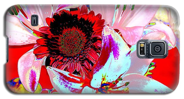 Mom's Day Bouqet Abstract Galaxy S5 Case by M Diane Bonaparte