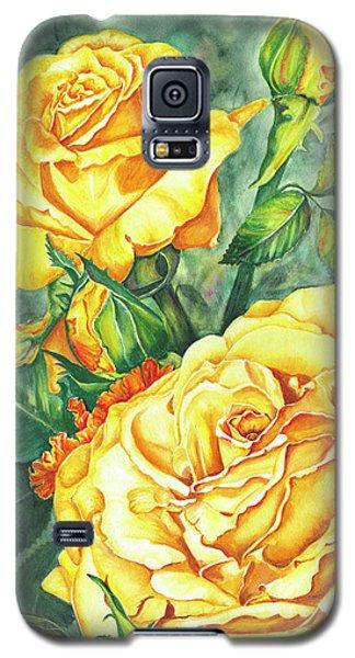 Mom's Golden Glory Galaxy S5 Case