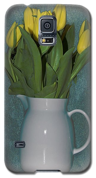 Galaxy S5 Case featuring the photograph Moms Tulips by William Havle
