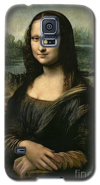 Portraits Galaxy S5 Case - Mona Lisa by Leonardo da Vinci