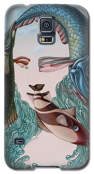 Mona Lisa. Water Galaxy S5 Case