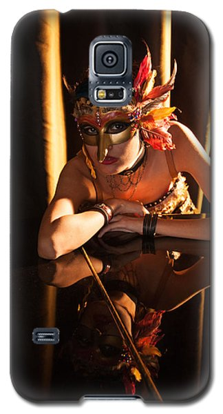 Mona. Reflection On Grand Piano Galaxy S5 Case