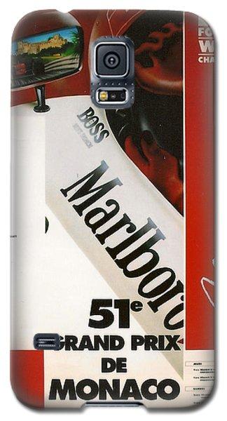Monaco F1 1993 Galaxy S5 Case