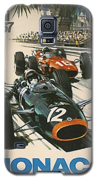 Monaco Grand Prix 1967 Galaxy S5 Case