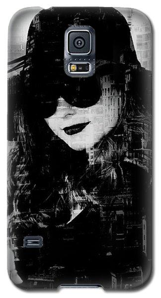 Monaco Woman Galaxy S5 Case