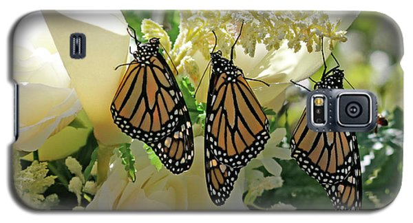 Monarch Butterfly Garden  Galaxy S5 Case by Luana K Perez