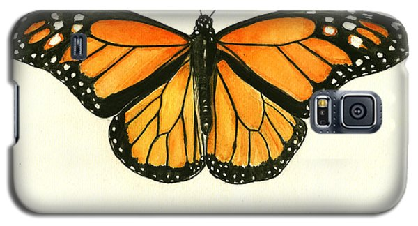Monarch Butterfly Galaxy S5 Case by Juan Bosco
