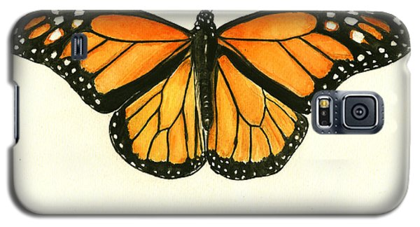 Butterfly Galaxy S5 Case - Monarch Butterfly by Juan Bosco