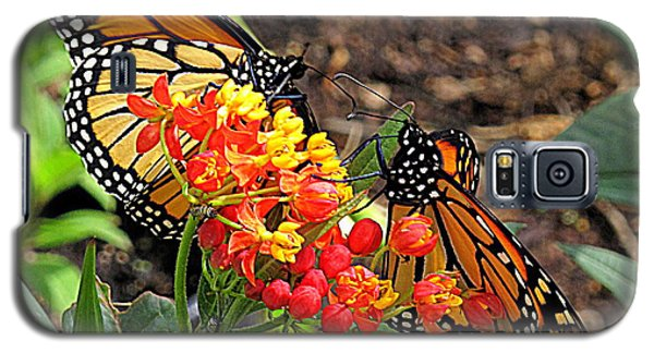 Monarch Handshake Galaxy S5 Case by Suzy Piatt