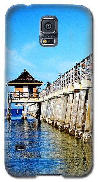 Monday Morning At Naples Pier Galaxy S5 Case