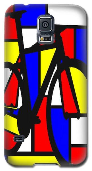 Mondrianesque Road Bike Galaxy S5 Case