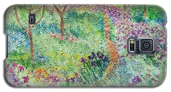 Monet Inspired Iris Garden Galaxy S5 Case