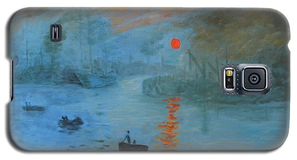 Monet Sunrise By Dg Galaxy S5 Case