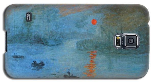Monet Sunrise By Dg Galaxy S5 Case