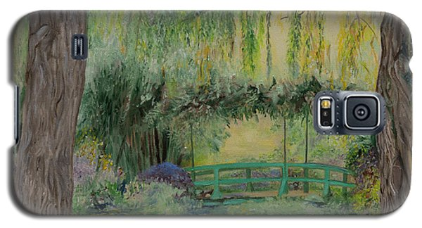 Monet's Bridge Galaxy S5 Case