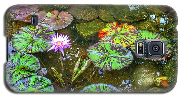 Monet's Pond At The Fair Galaxy S5 Case