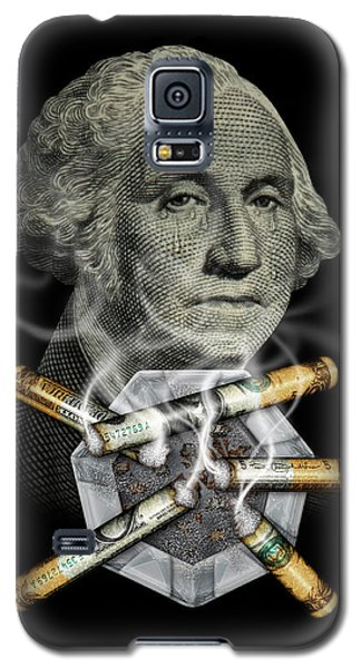 Money Up In Smoke Galaxy S5 Case