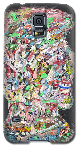 Galaxy S5 Case featuring the painting Money,sex And Power by Fabrizio Cassetta