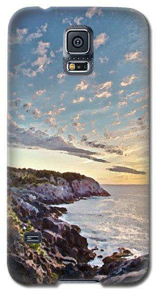 Monhegan East Shore Galaxy S5 Case by Tom Cameron