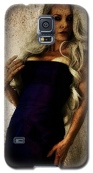 Galaxy S5 Case featuring the digital art Monique 2 by Mark Baranowski