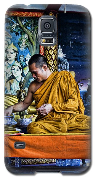 Monk At Big Buddha  Galaxy S5 Case