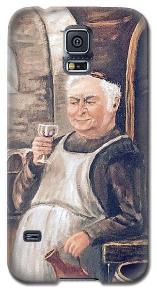 Monk With Wine Galaxy S5 Case
