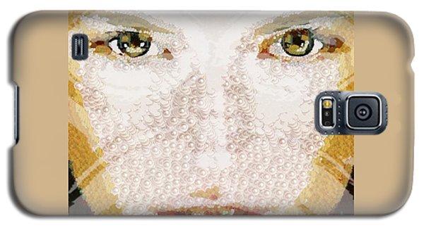 Monkey Glows Galaxy S5 Case by Catherine Lott