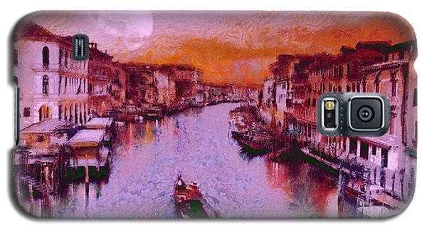 Monkey Painted Italy Again Galaxy S5 Case