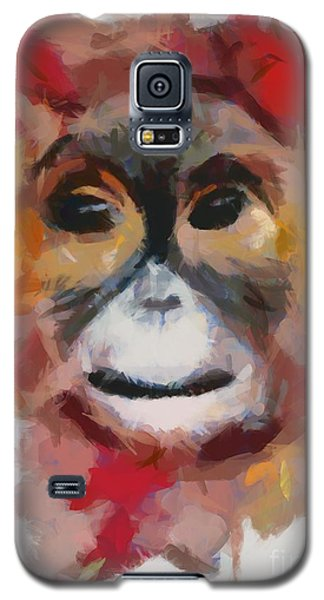 Monkey Splat Galaxy S5 Case