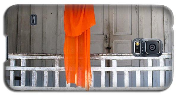 Monk's Robe Hanging Out To Dry, Luang Prabang, Laos Galaxy S5 Case