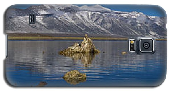 Mono Lake Pano Galaxy S5 Case by Wes and Dotty Weber