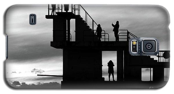 Mono Sunset Blackrock  Galaxy S5 Case