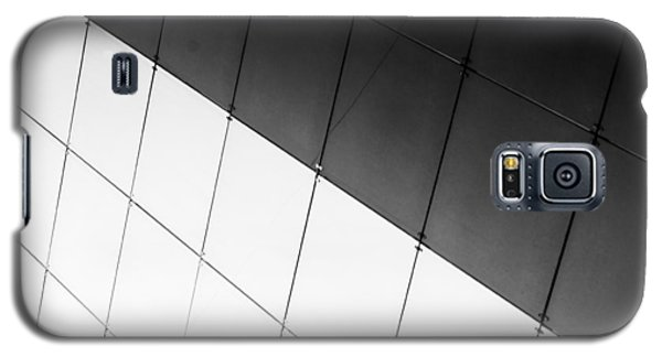 Monochrome Building Abstract 3 Galaxy S5 Case