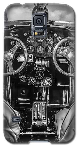 Monochrome Cockpit Galaxy S5 Case