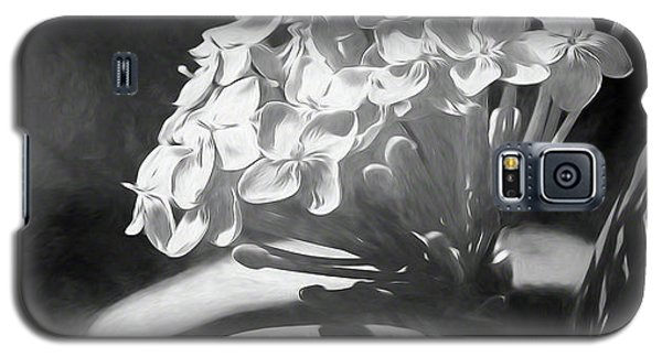 Monochrome Flora Galaxy S5 Case