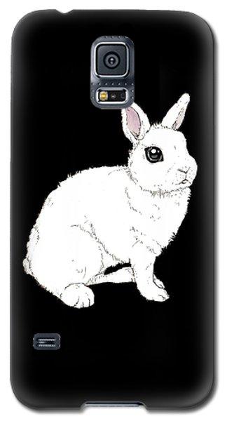 Monochrome Rabbit Galaxy S5 Case