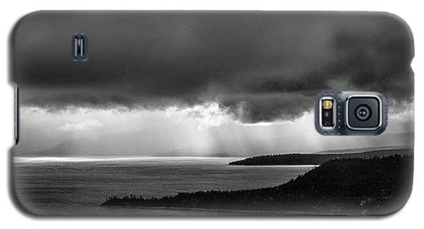 Monochrome Storm Panorama Galaxy S5 Case