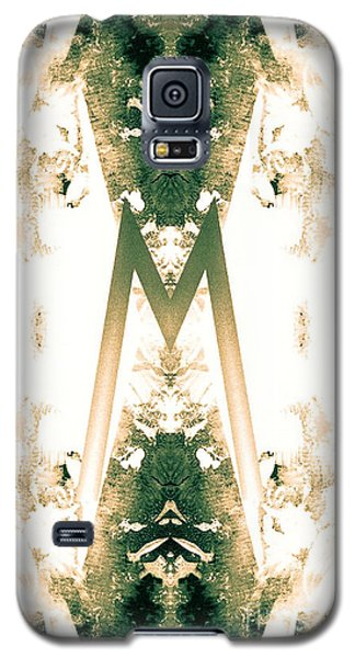 Monogram M - 0 - 9 Galaxy S5 Case
