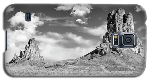 Galaxy S5 Case featuring the photograph Monoliths by Jon Glaser