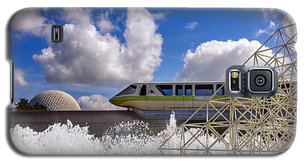 Monorail And Spaceship Earth Galaxy S5 Case