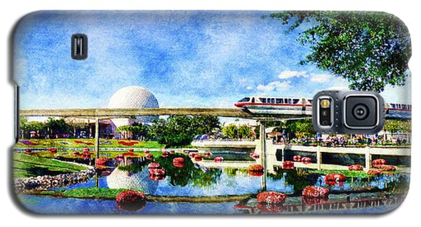 Monorail Red - Coming 'round The Bend Galaxy S5 Case