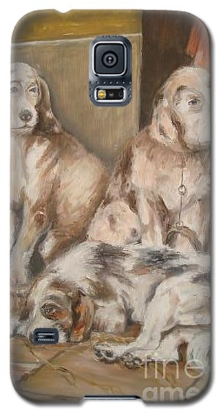 Galaxy S5 Case featuring the painting Monotony by Rushan Ruzaick