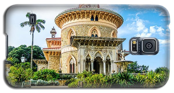 Galaxy S5 Case featuring the photograph Monserrate Palace by Marion McCristall