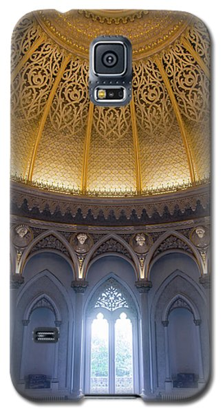 Galaxy S5 Case featuring the photograph Monserrate Palace Room by Carlos Caetano