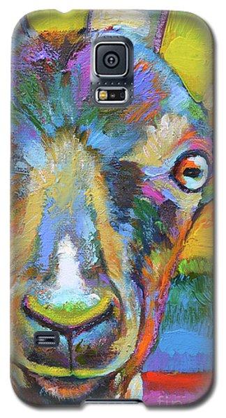 Monsieur Goat Galaxy S5 Case by Robert Phelps
